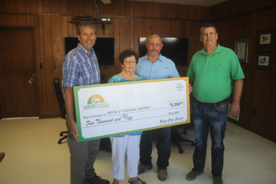 Local News: Tidwell wins Bayer sweepstakes for Delta C-7 school (8/6